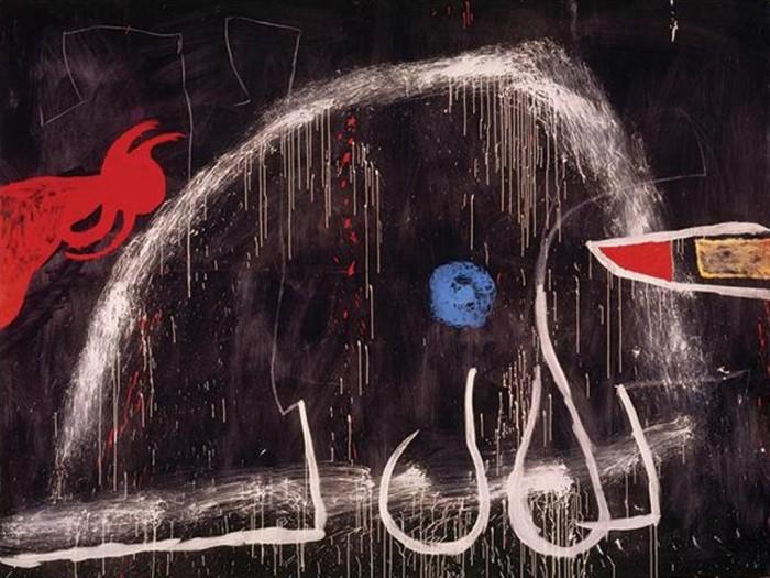 Joan Mirò, Senza titolo, 1974
