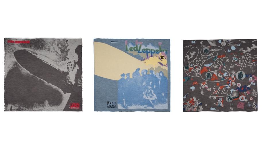 Led Zeppelin sciarpe Paul Smith