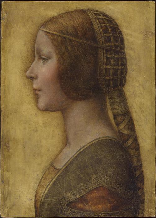 """""""La Bella Principessa"""" di Leonardo da Vinci"""