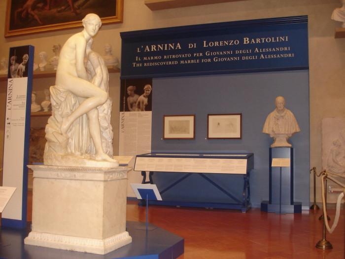Lorenzo Bartolini, Arnina mostra Galleria dell'accademia firenze