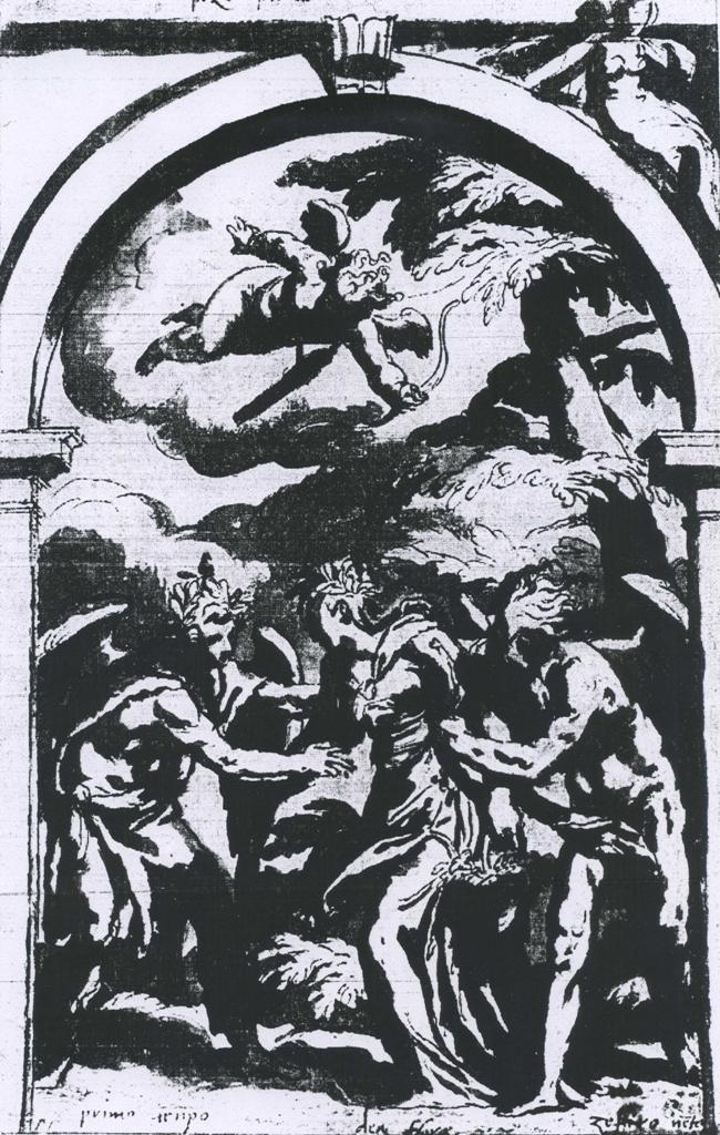 Paolo Farinati, Allegoria di Primavera, Flora e Zefiro