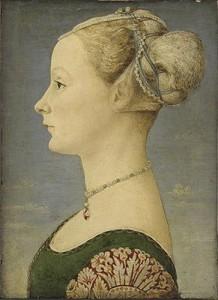 Piero del Pollaiolo Ritratto di donna di profilo ©Milano, Museo Poldi Pezzoli