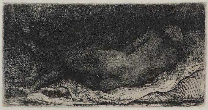 Rembrandt - La Negresse