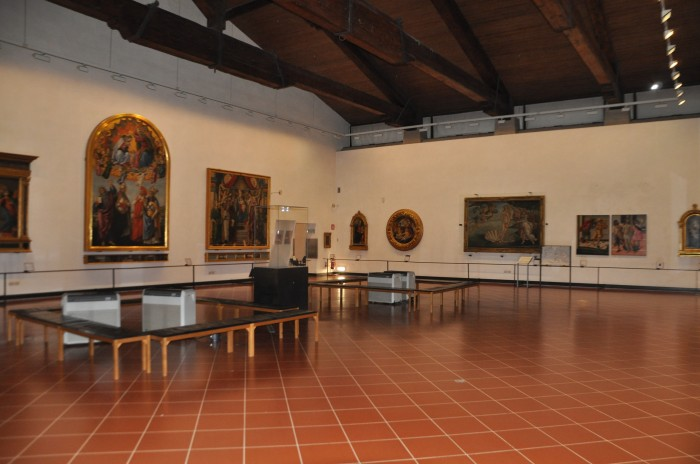 Uffizi Sala Botticelli con Venere