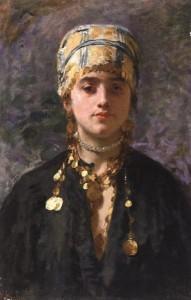 Vincenzo Gemito, Cosarella (1878), olio su tela, collezione privata