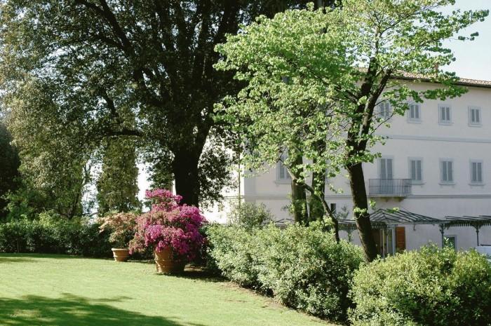 Villa Bardini dopo i restauri. La facciata est.