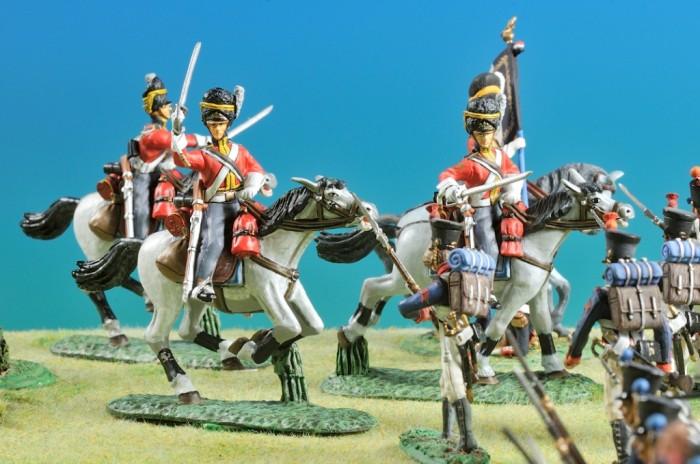 Waterloo, 1815, La carica degli Scots Greys (1)