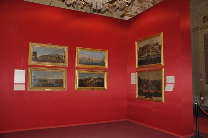 Palazzo Pitti, Ritratti di paesi, mari e città