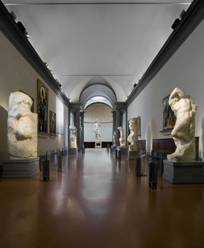 Tribuna Prigioni-Accademia Firenze