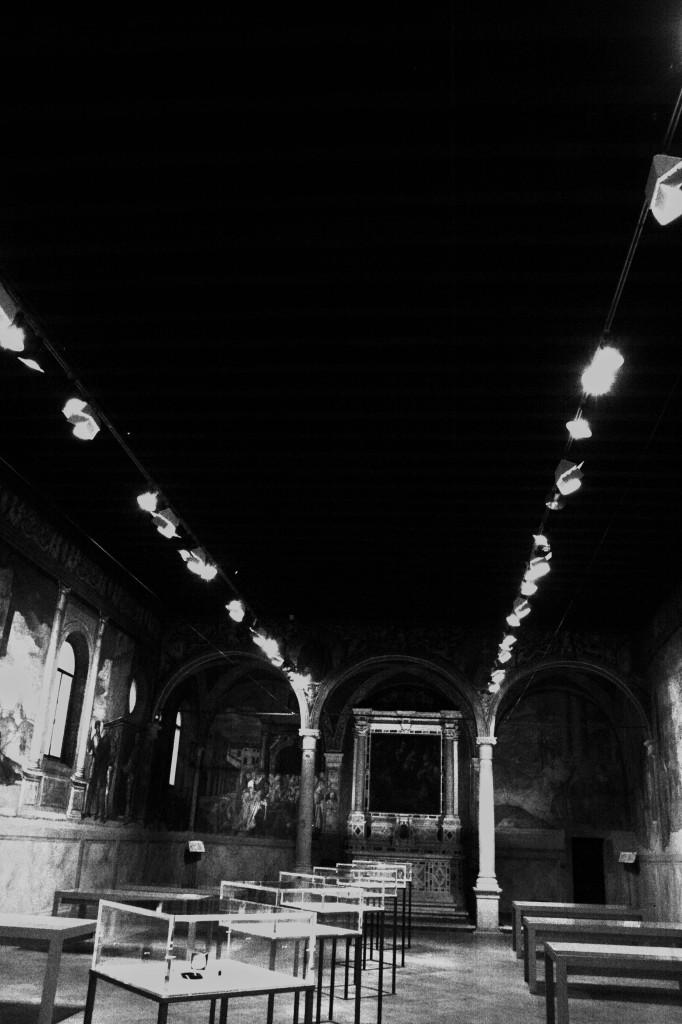 Pensieri Preziosi 10 - Monografie. Graziano Visintin. Oratorio di San Rocco, dal 29 novembre 2014 al 15 febbraio 2015, Padova. Ph. credit: Silvia Valenti