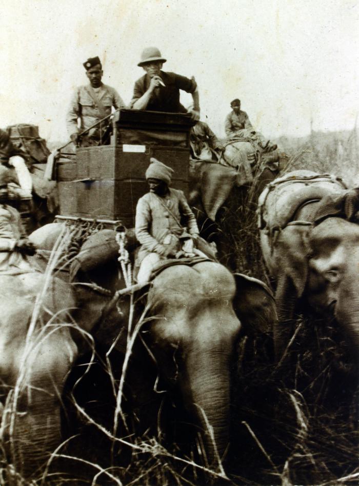 Alessandro Imbert in Nepal, 1924
