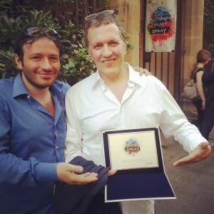 Domenico Costanzo vincitore filmspray2014