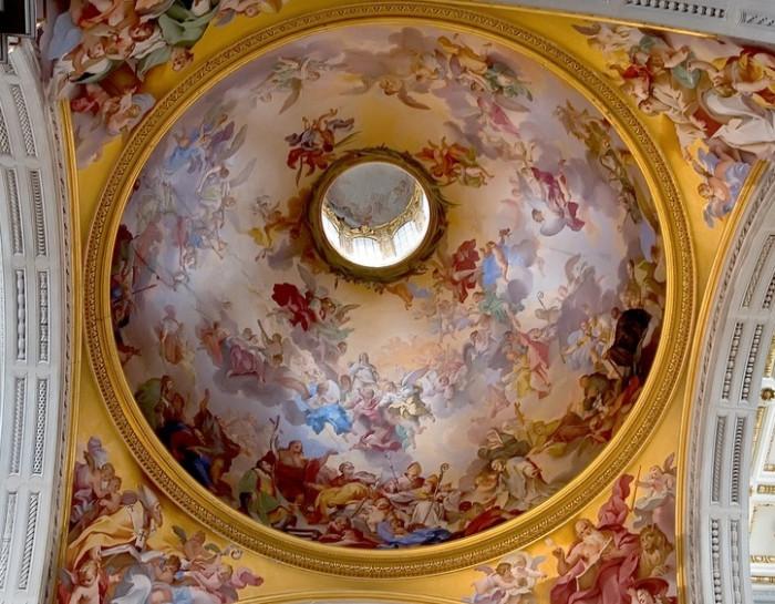 Vincenzo Meucci, affresco cupola Basilica di San Lorenzo, Firenze