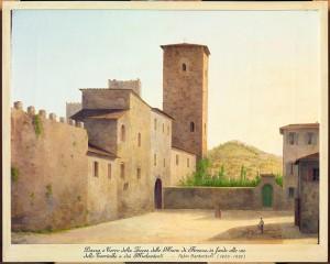 fabio borbottoni, Piazza e Torre della Torre delle Mura di Firenze