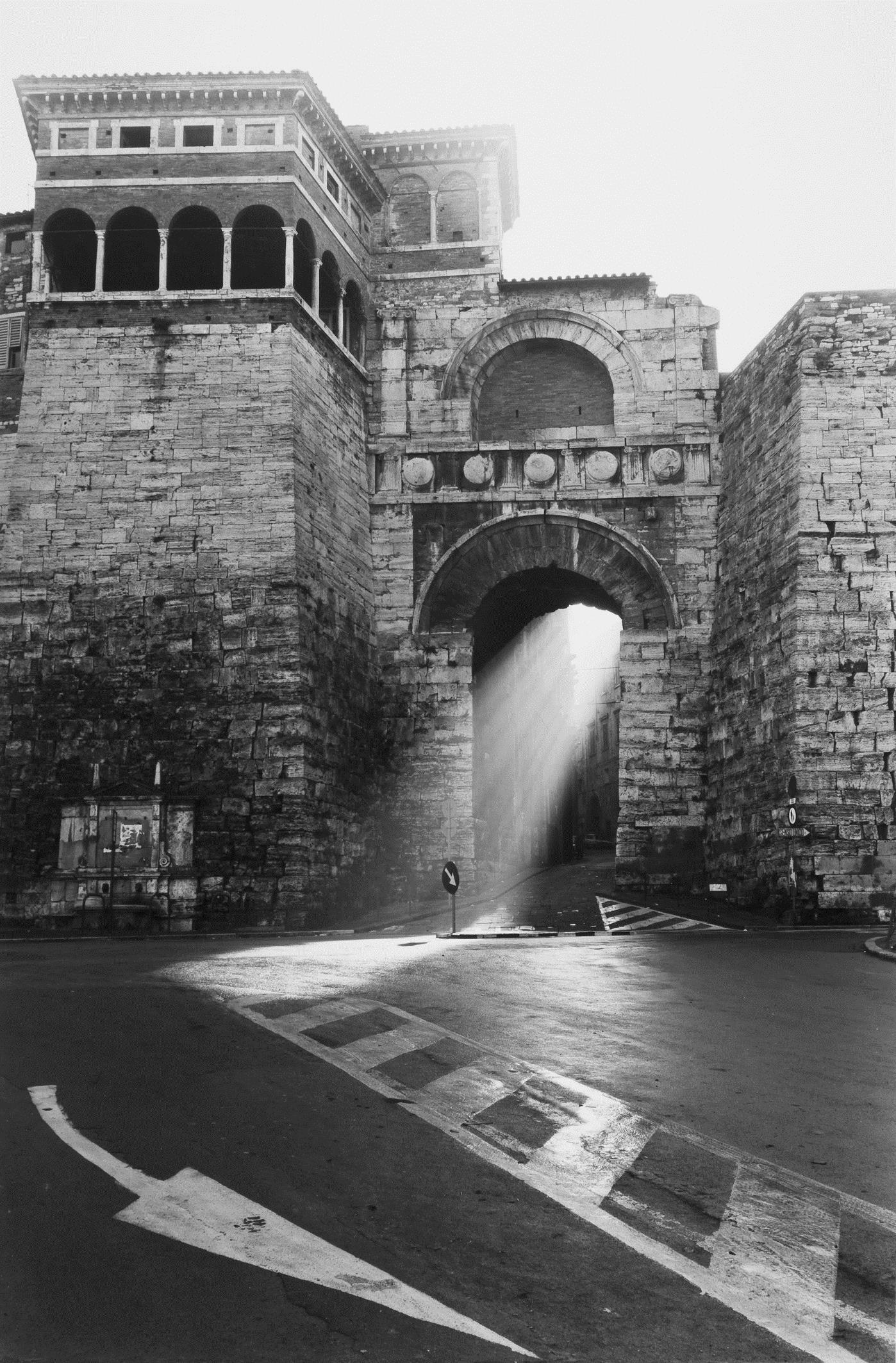 george tatge, Porta Etrusca, Perugia, '83