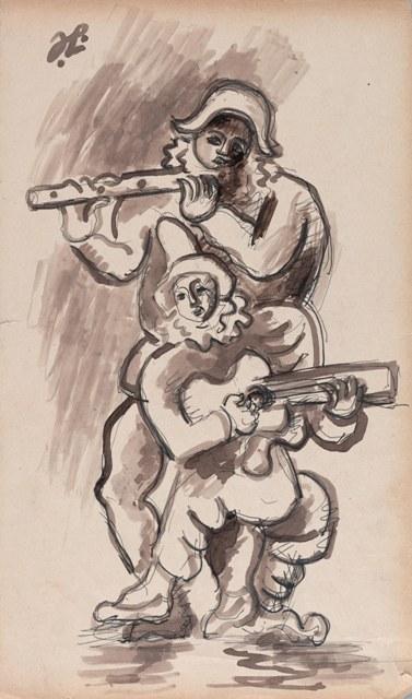 Lipchitz_ Musicisti - ca. 1910-1912