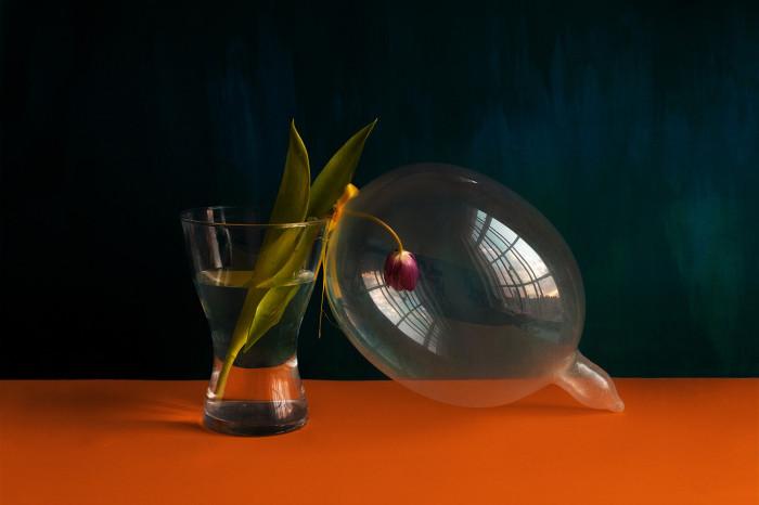 Giuseppe Lo Schiavo, Proserpina - Still life with condom, 2015