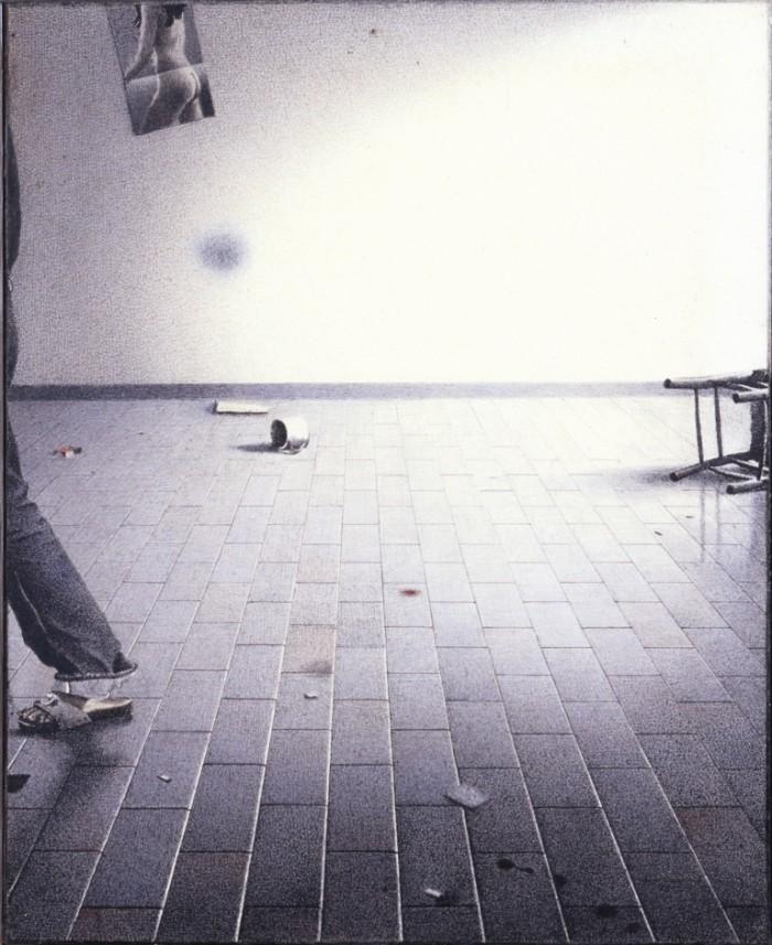 Gianfranco Ferroni, Lo studio vuoto