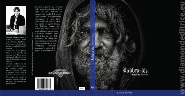 Labbra Blu cover libro Simone Pozzati.