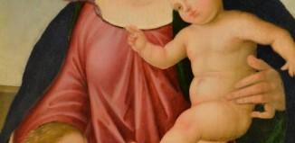 Scuola del Perugino, Madonna con Bambino e San Giovannino, Villa Carlotta
