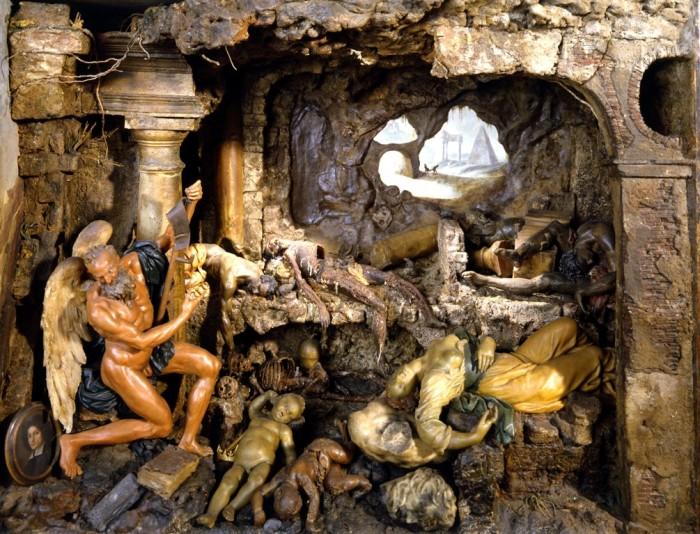 Tempo , restauro di Guglielmo Galli