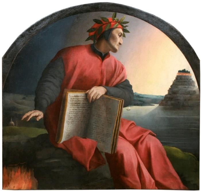Bronzino, Ritratto di Dante Alighieri, coll. privata