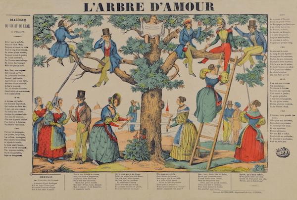 Raccolta Bertarelli, Popolari profane 14-22a [L'arbre d'amour]