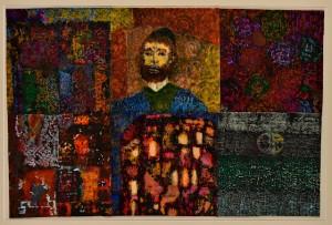 Andrea Jacchia (Courtesy: Galleria Blanchaert) Mosé Maimonide, 2014/2015 Acquarello su scottex, cm 44,5x67,5