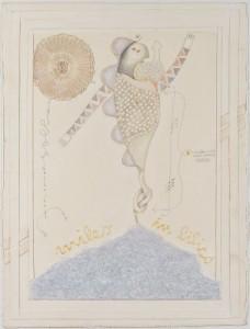 Arnaldo Marcolini Miles in bilico, 2015 Tecnica mista, cm 76x58