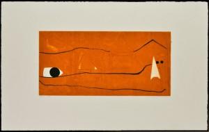 Enrico Della Torre Scie, 2009 Acquaforte, vernice molle, bulino con barbe, carborundume acquatinata a colori, cm 50x77