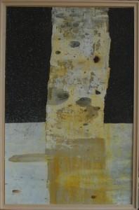 Giovanni Bonaldi Un abito per betulla, 2015 Tecnica mista su carta, cm 81,5x52,5