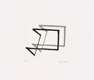 Grazia Varisco Gnomoni, 1986 Serigrafia, cm 30x35