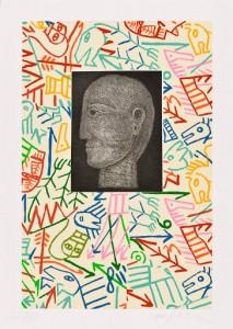 Mimmo Paladino Senza titolo, 2011 Acquatinta su carta, formato carta: cm 70x50