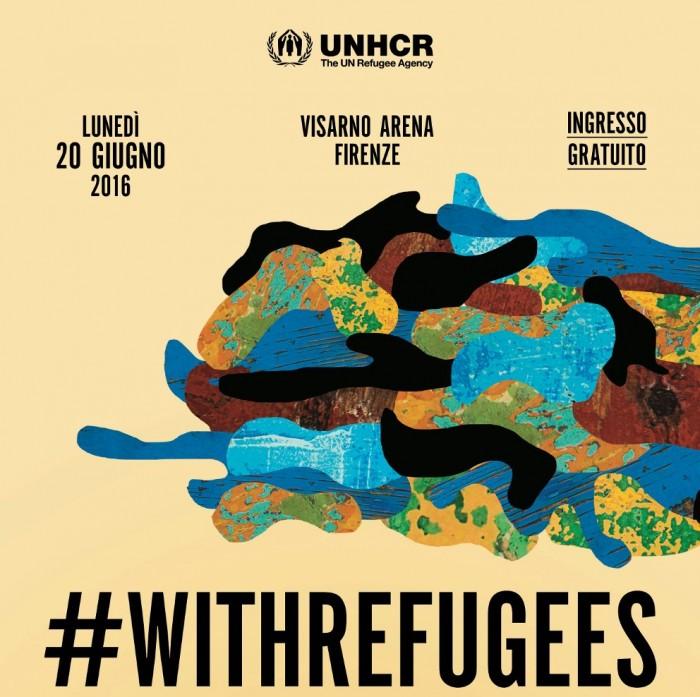 #withrefugees 20 giugno arena visarno firenze