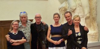 Simonetta Brandolini d Adda, Bob Geldof, Bobby Sager, Cecilie Hollberg, Sting, Trudie Styler arte musica prigioni michelangelo firenze