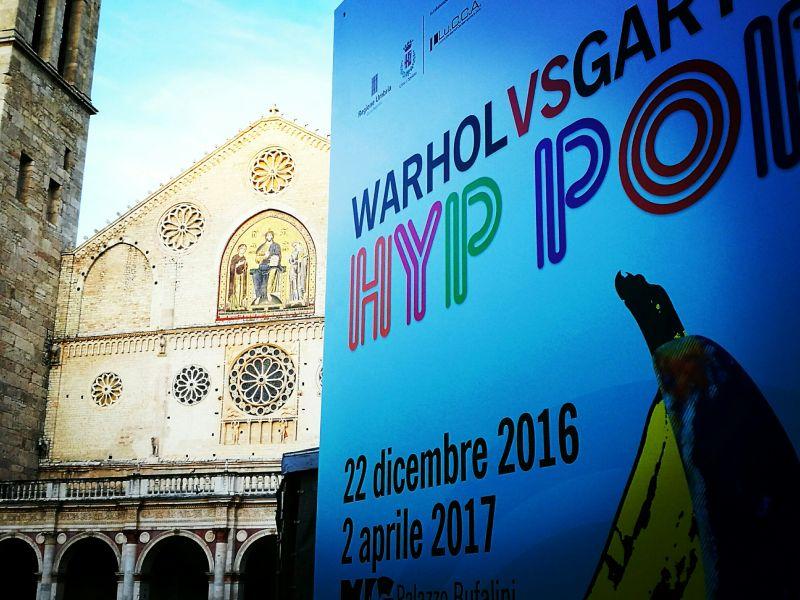 warhol-vs-gartel pop art hyp pop spoleto palazzo bufalini dal 22 dicembre fino al 2 aprile 2017 arte contemporanea