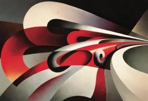 Tullio Crali_Le forze della curva_1930_ collezione privata