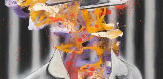 Achenbach, Eric, 2016, cm 60x50, olio su tela.
