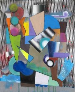 Achenbach, Mokka, 2016, cm 60x50, olio su tela