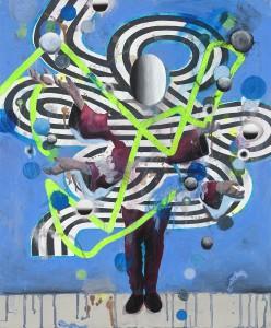 Achenbach, Untitled, 2016, cm 60x50, olio su tela