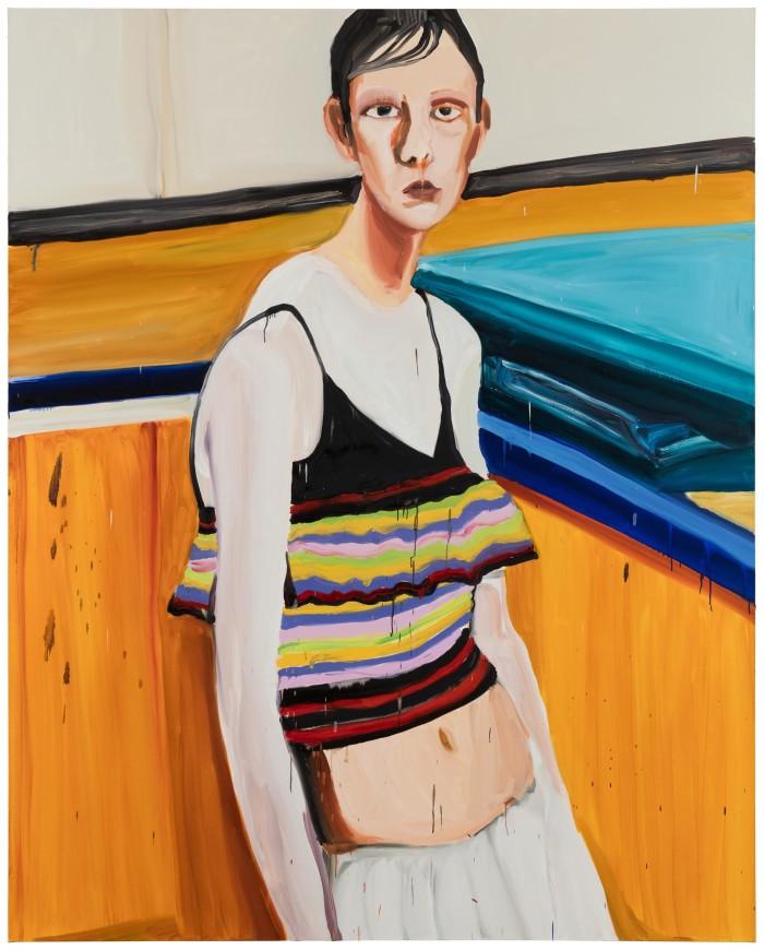 Jenni Hiltunen, Mess Of Being, painting 2016