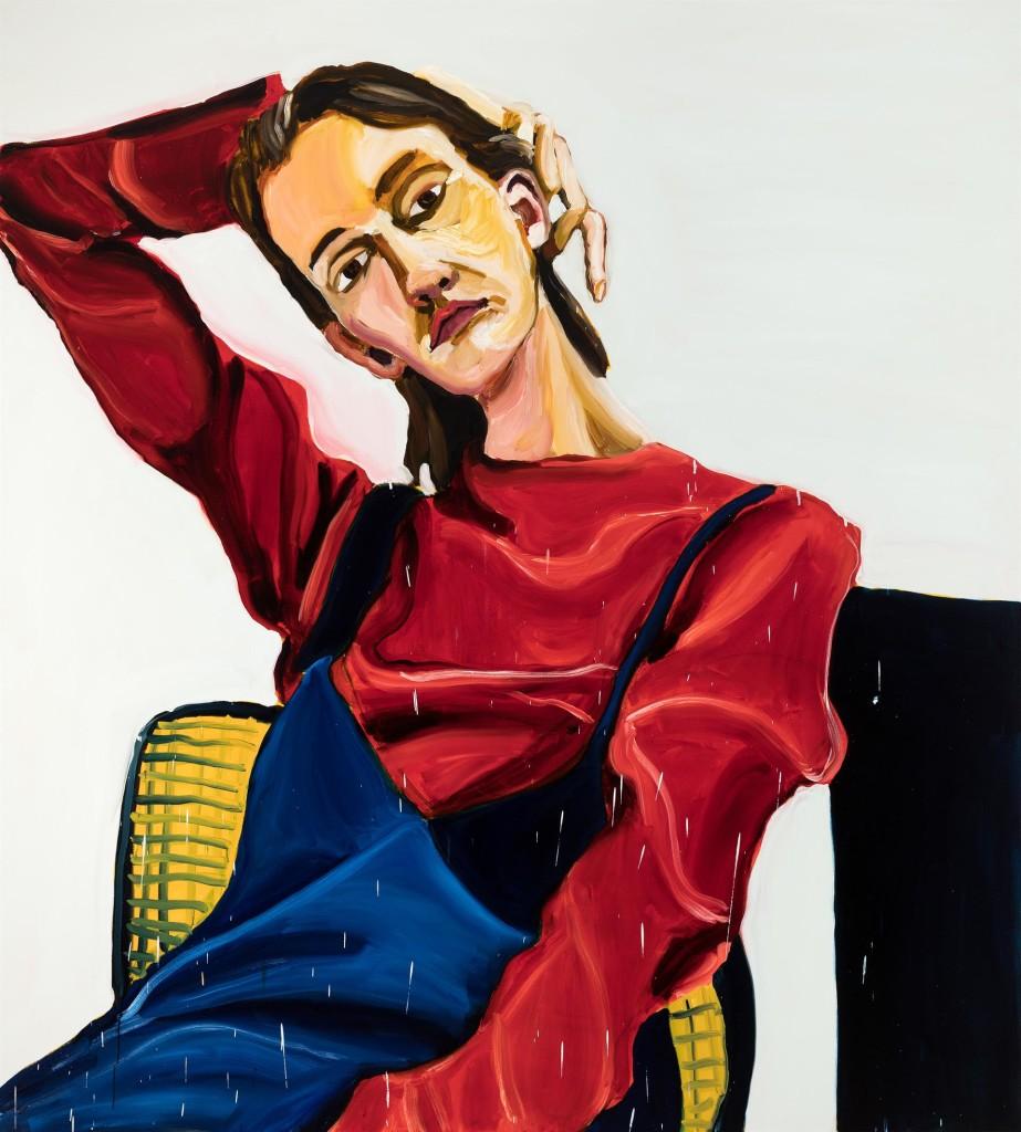 Jenni Hiltunen, Silent Woman,painting, 2017