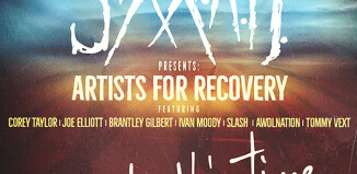 Sixx:A.M. Artists for recovery