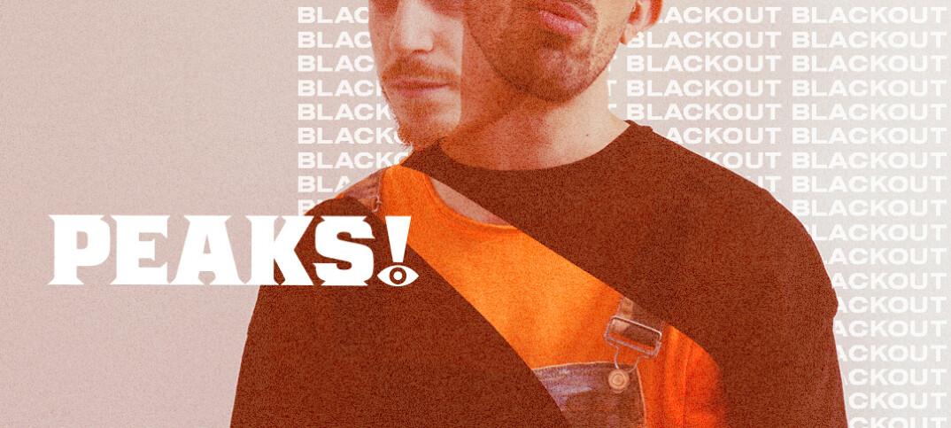 peaks band singolo di debutto Blackout