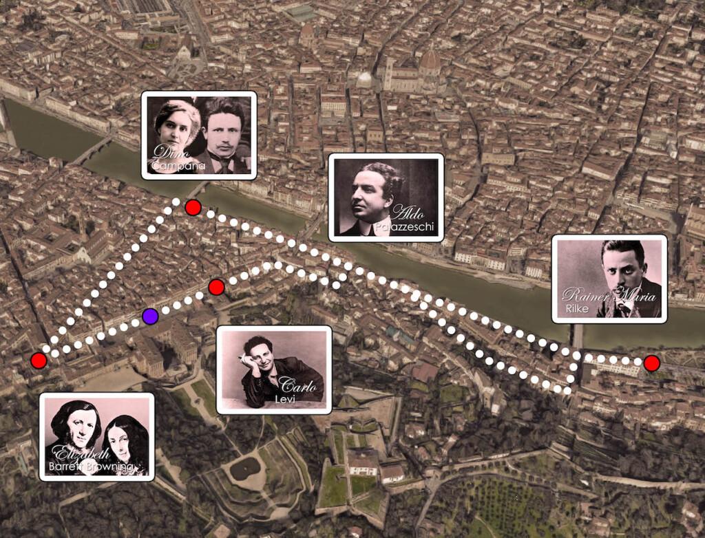 Firenze Insolita 2 MAPPA