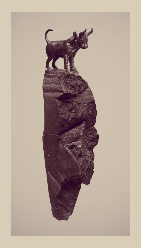 Standing Bull_Stampa Fine Art _ 40x120cm _ 2021_Riccardo Arena