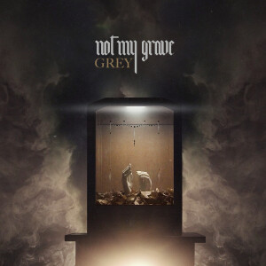 not my grave cover singolo grey