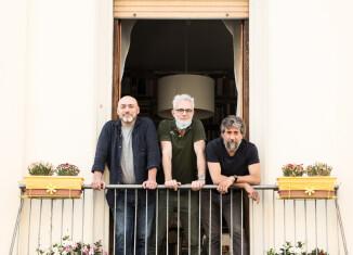 Fabrizio Checcacci, Lorenzo Degli Innocenti e Roberto Andrioli